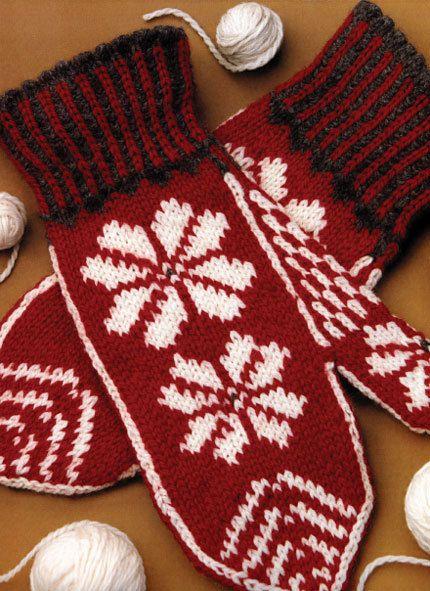 Knitted Nordic Mittens Free Knitting Pattern Craftfoxes Mittens Pattern Free Knitting Knitted Mittens Pattern