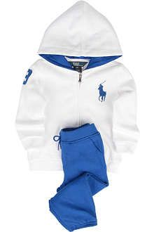 913775c01c RALPH LAUREN Big Pony tracksuit 3-24 months | Seventh/Eighth Grade ...