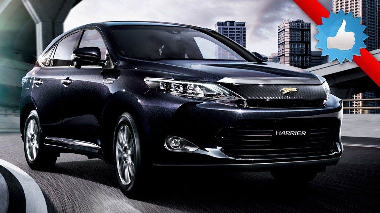 2016 toyota harrier, mid-size suv the 2016 toyota harrier is