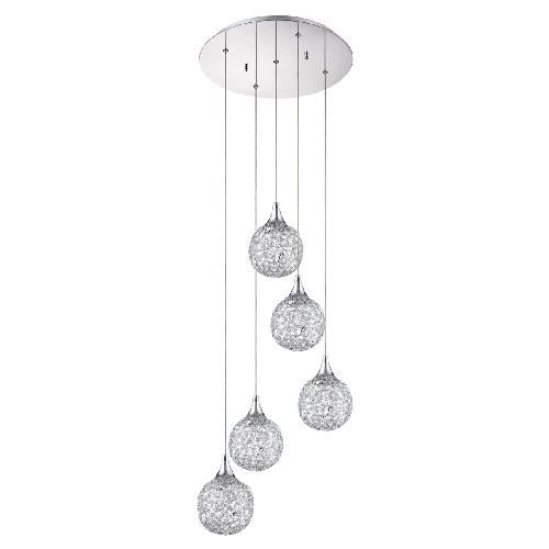 Suspension Multi Luminaire Deco Escalier Light