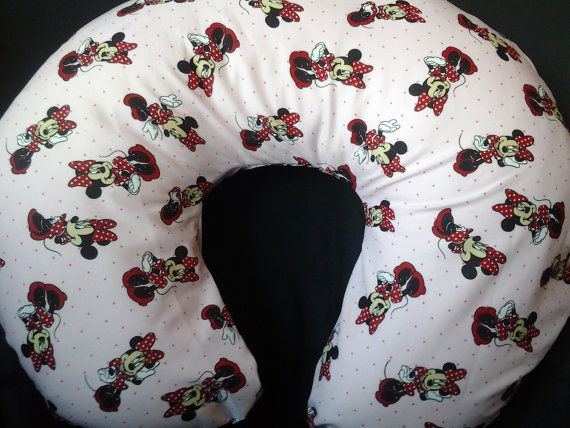 Boppy Cover Minnie Mouse Nursing Pillow Cover Baby Pillow Cover Best Minnie Mouse Boppy Pillow Cover