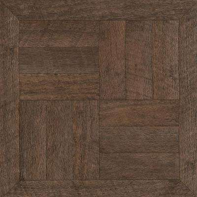12 In Width X 12 In Length Heirloom Brown Peel And Stick Vinyl Tile 30 Sq Ft Case Peel And Stick Vinyl Vinyl Tile Vinyl Flooring