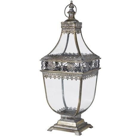 Antiqued Moorish Style Lantern
