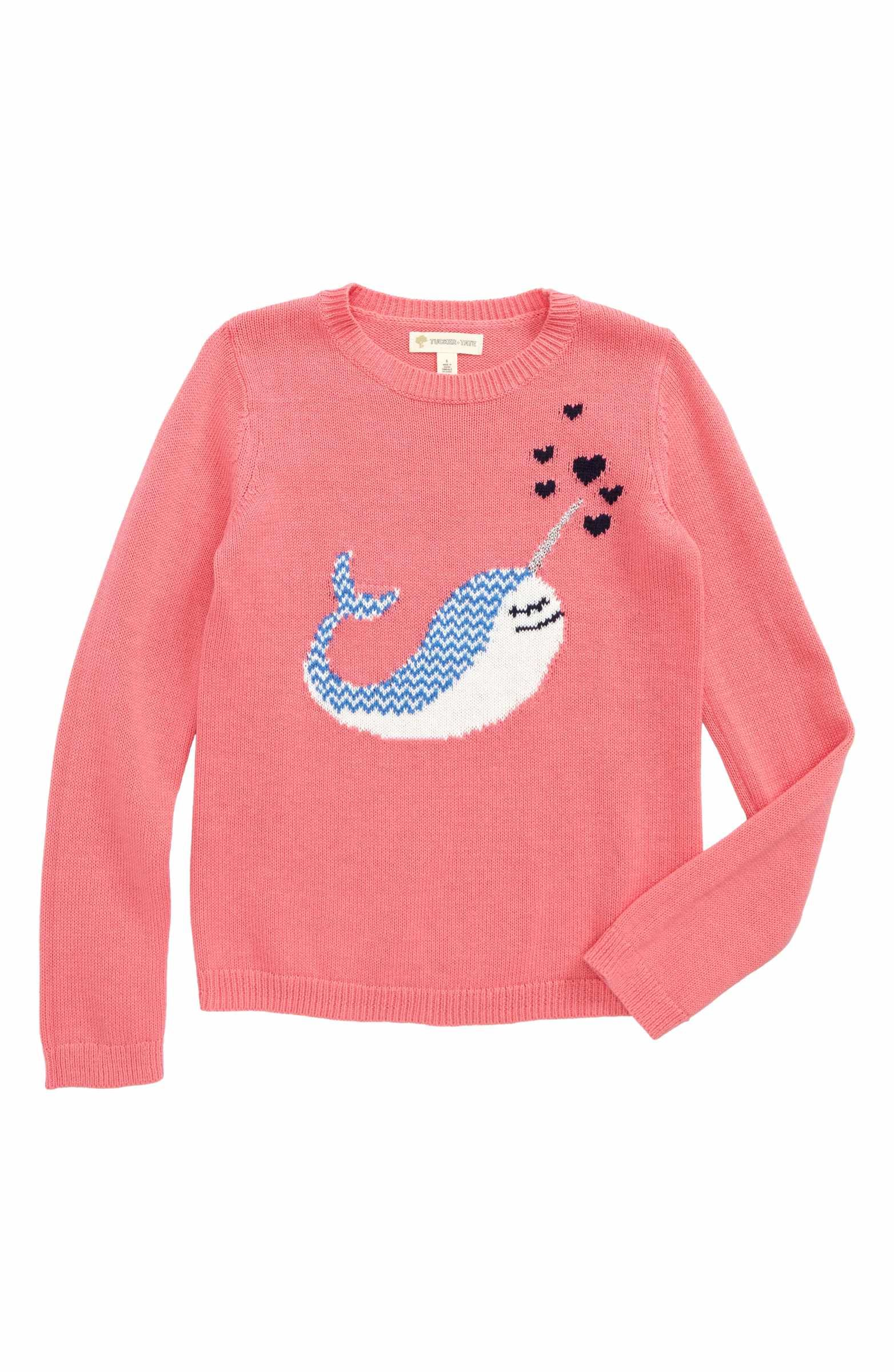 Icon Cotton & Cashmere Sweater | Cashmere sweaters and Toddler girls