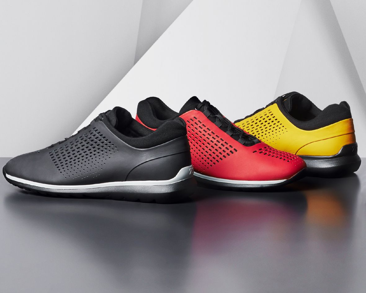A new concept of lightness. New Zegna Sport sprinter #sneakers