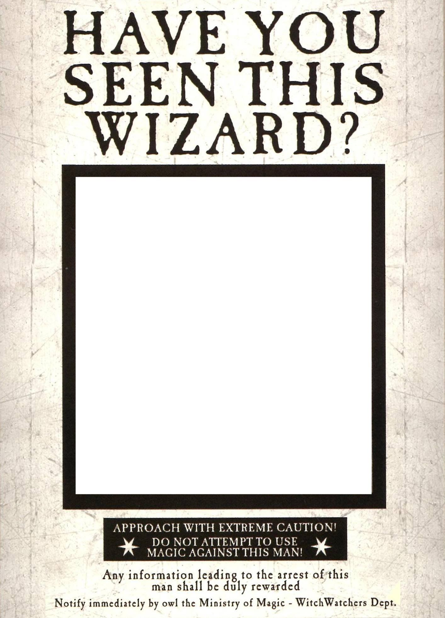 graphic regarding Have You Seen This Wizard Printable called Pin upon Harry Potter