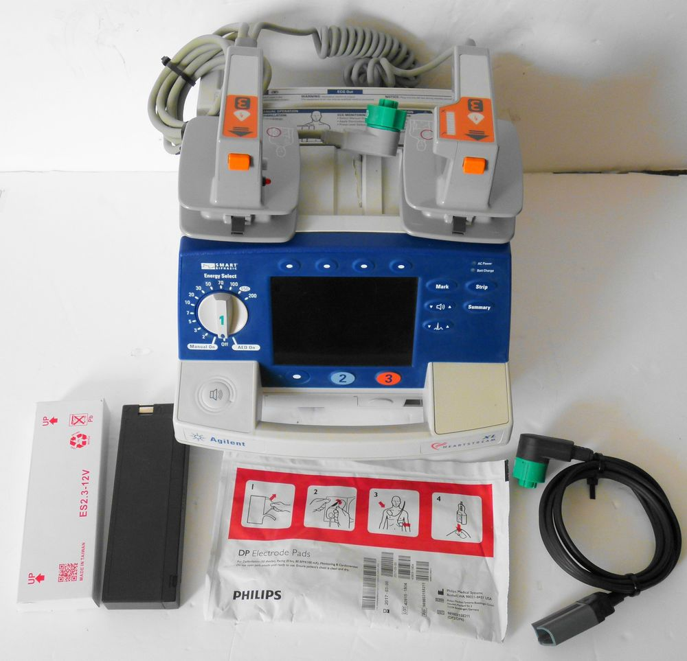 Philips Agilent Heartstream XL Smart Biphasic AED Defib