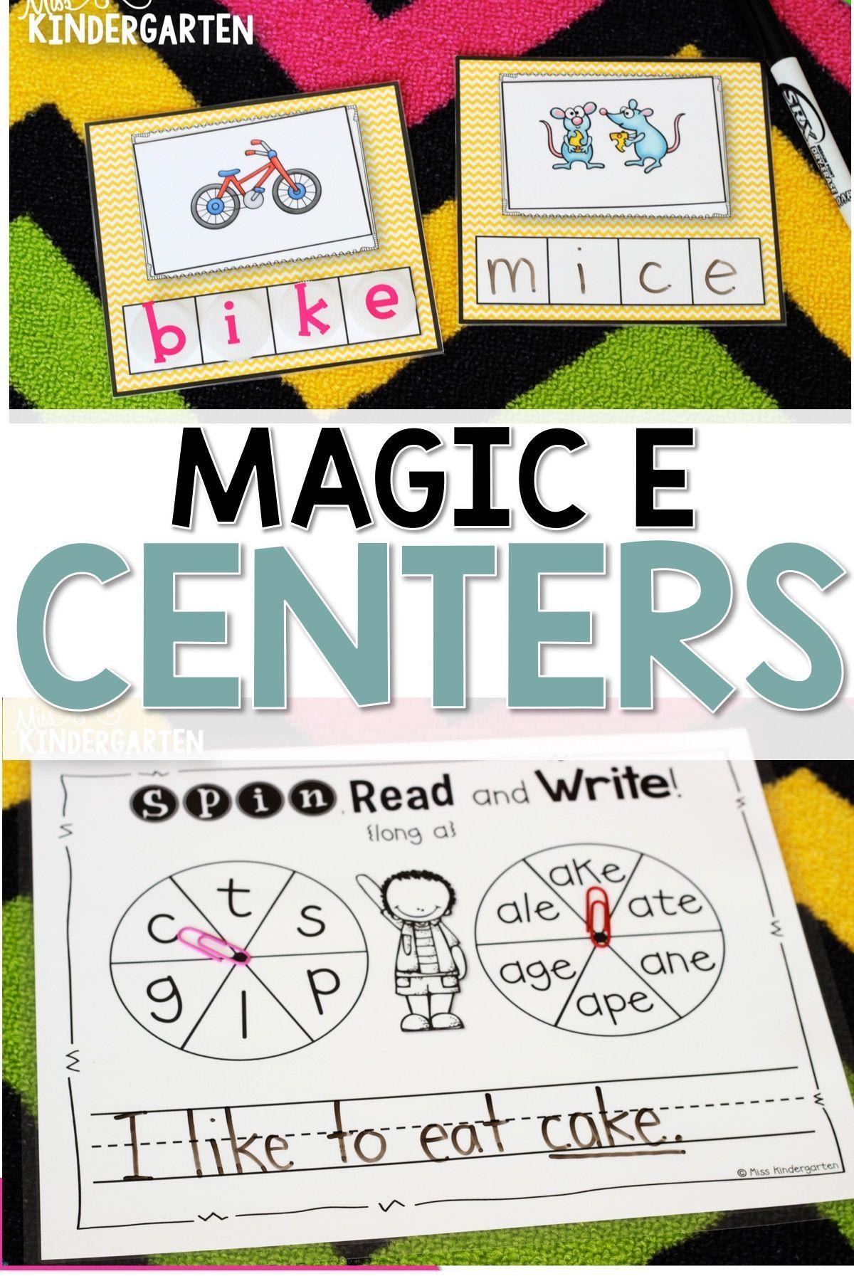 Super Cvce Practice That Tricky Magic E
