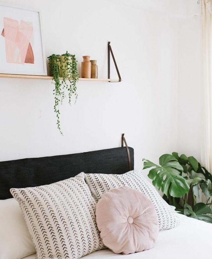 1001 Idees De Bricolages Pour Votre Deco Tete De Lit Originale Deco Tete De Lit Tete De Lit Coussin Decor Chambre A Coucher