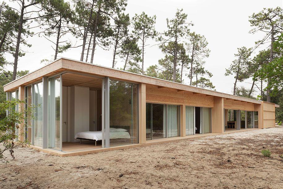 Nicolas Dahan Architecte Villa En Bois