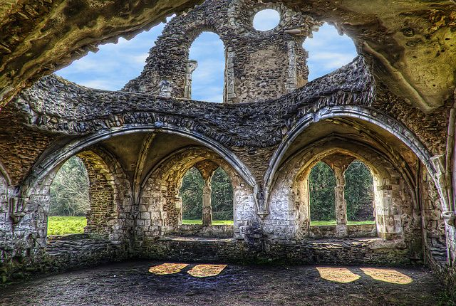 Waverley Abbey Ruins Places To Go Places To Visit Derelict Places
