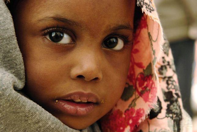 Menina somali