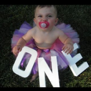 aubree is turning one (: