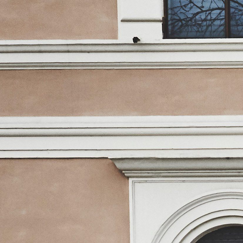 Les belles façades de Rome  #davidcoppieters #architecturerome #instagood #travelrome #wallphoto #vatican #italian #phot...