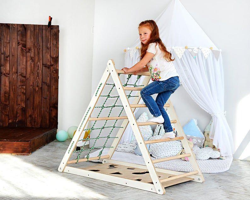 Riesige Pikler Dreieck, Montessori inspiriert Klettern