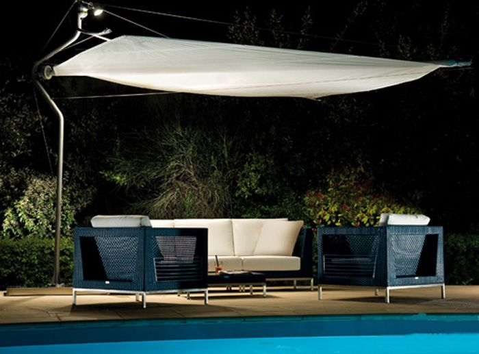 Functional Design Patio Umbrella For Modern Usage