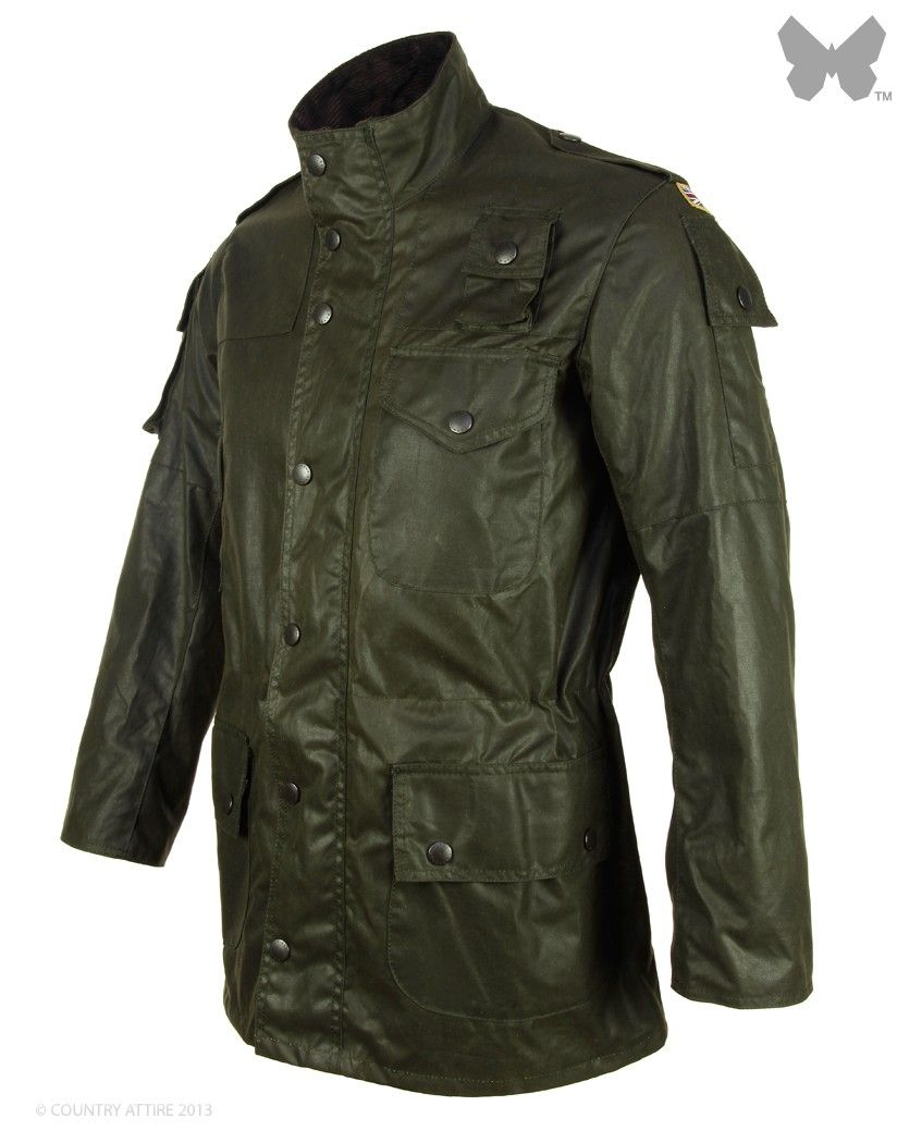 Commando Wants Mwx0036gn91 Sage Wax Cowen Barbour Jacket Men's O8qwSST