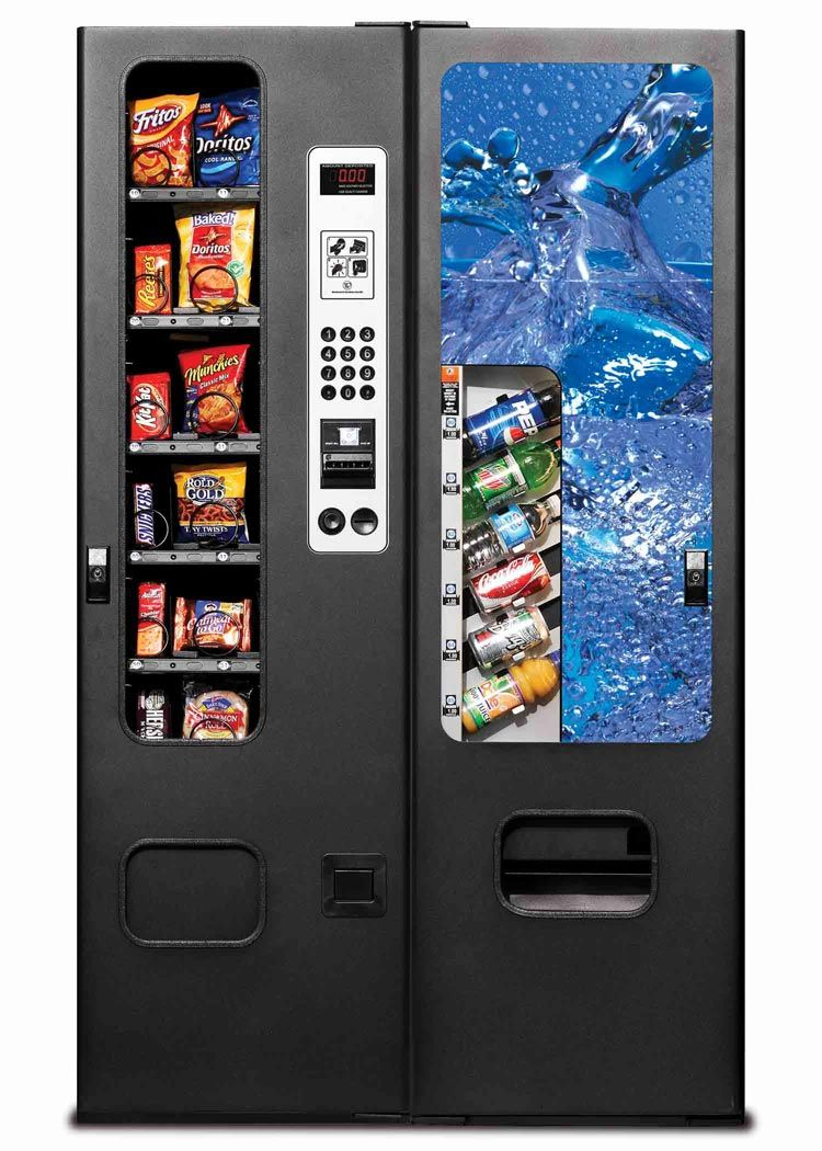 vending soda machines machine snack drink used break perfect selection food combination drinks combo snacks discover drinking electrical