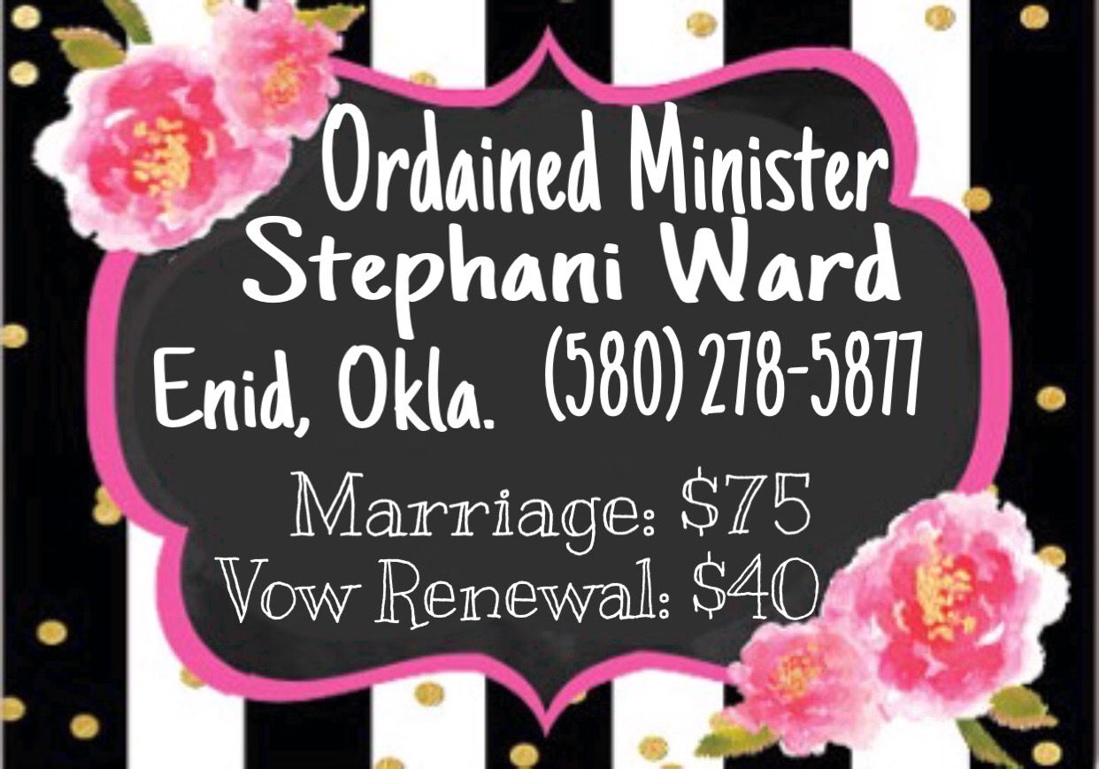 Business cards ordained minister floral stripes oklahoma wedding business cards ordained minister floral stripes oklahoma wedding decor free avon fashion beauty style design colourmoves