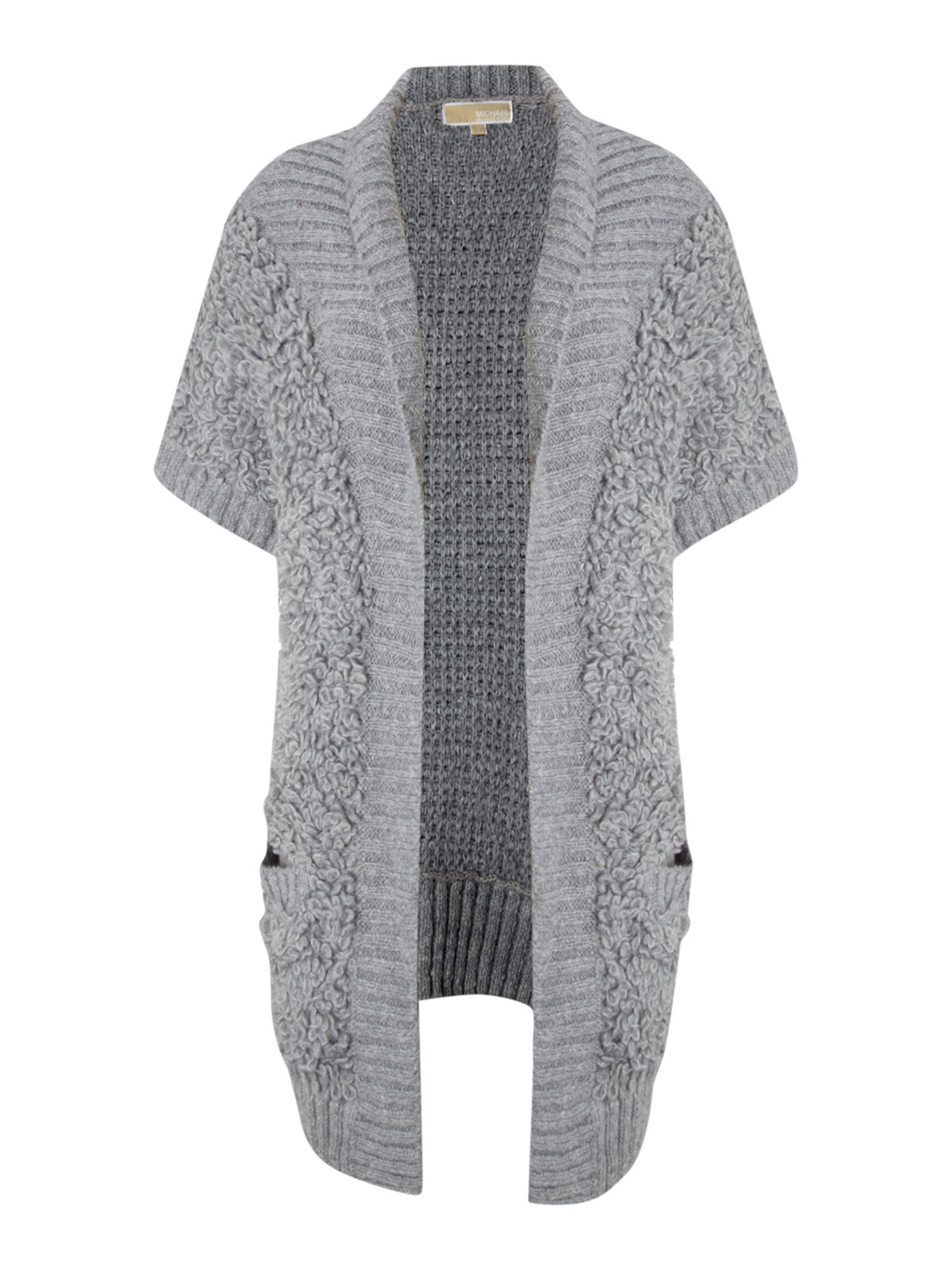Michael Kors Short sleeve loop knit cardigan http://shop.pixiie ...