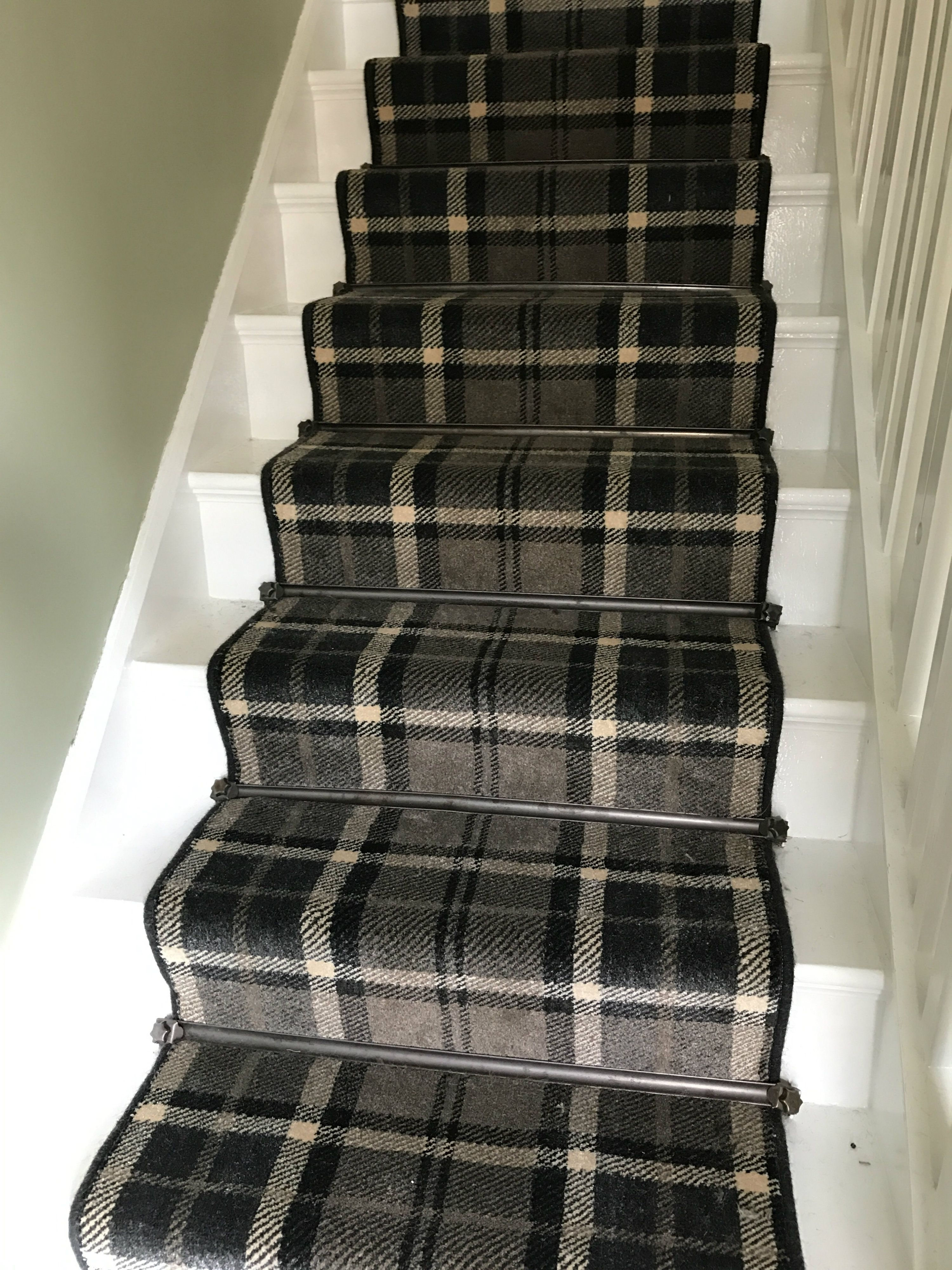 Thomas Witter Midas tartan nylon carpet Stair runner