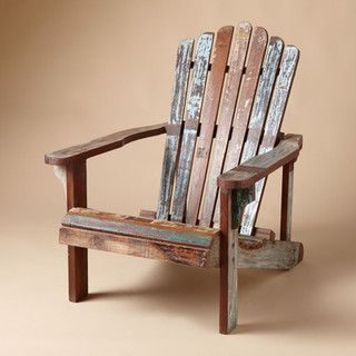 distressed adirondack chairs fabric for outdoor heaven pinterest