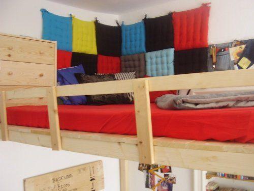 Bett An Der Wand Befestigen kinderzimmer gestalten mit kuscheligen textilien textilien