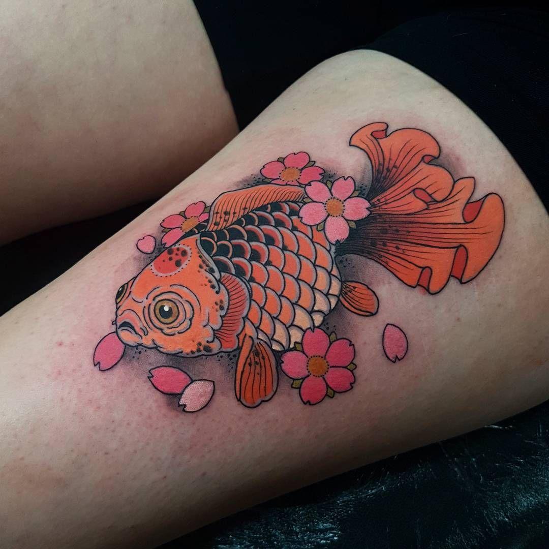 Koi Fish Tattoo Design - 40+ Coy Fish Tattoo Ideas (2018)   Tattoo ...