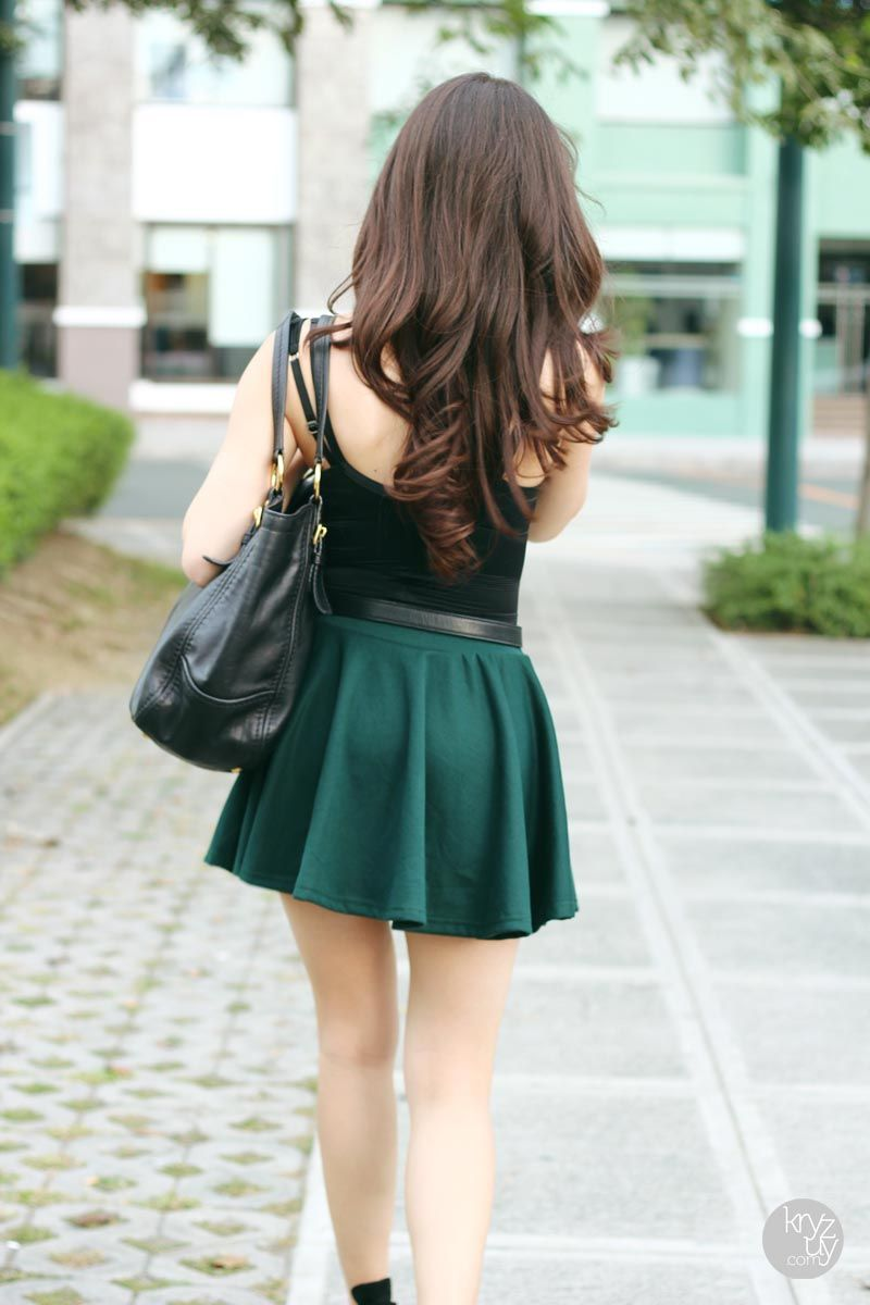 Little Green Skirt