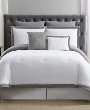 Truly Soft Everyday Hotel Border 7-Pc. Bedding Sets & Reviews - Bed in a Bag - Bed & Bath - Macy's