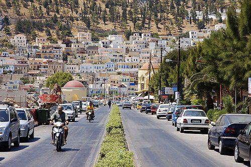 Kalymnos Pothia Greek islands and Travel memories