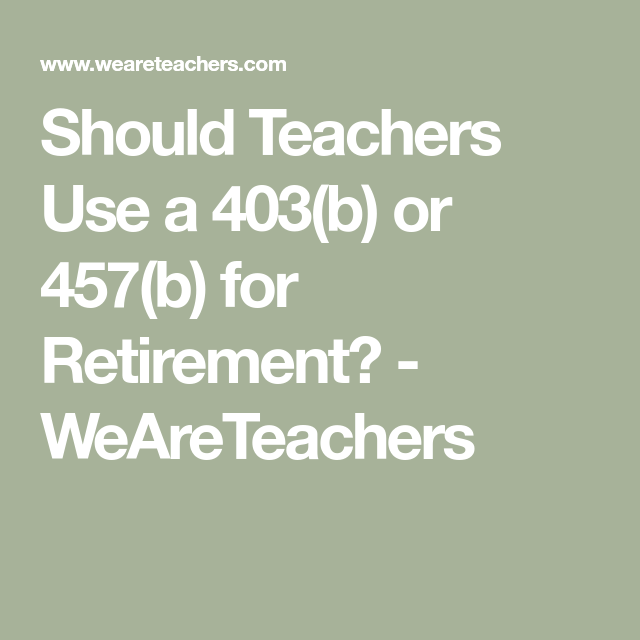 The Top Retirement Strategies for Teachers