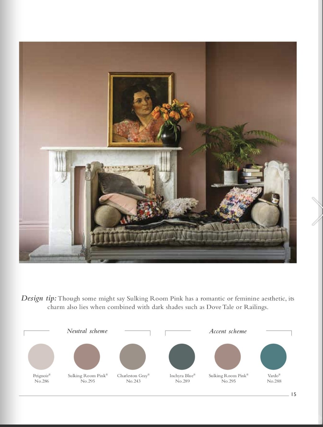 Best Sulking Room Pink Farrow And Ball With Images Pink 400 x 300