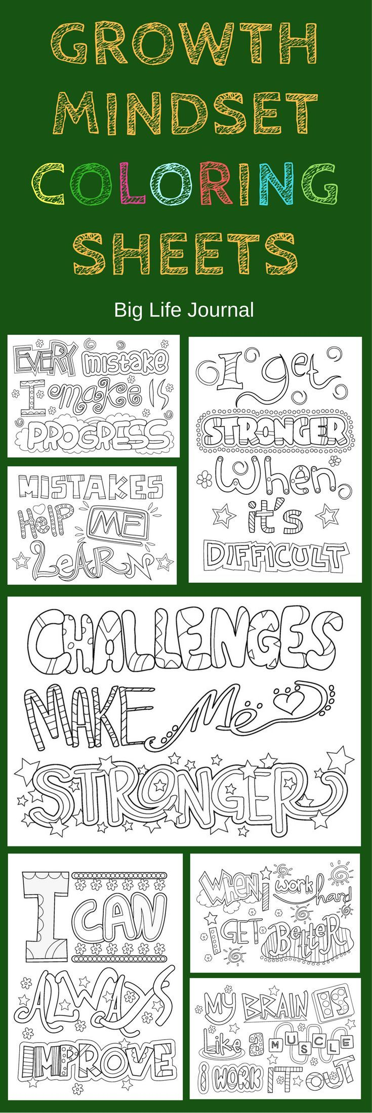 for Kids (hardcover) | Growth Mindset | Pinterest | Printable ...
