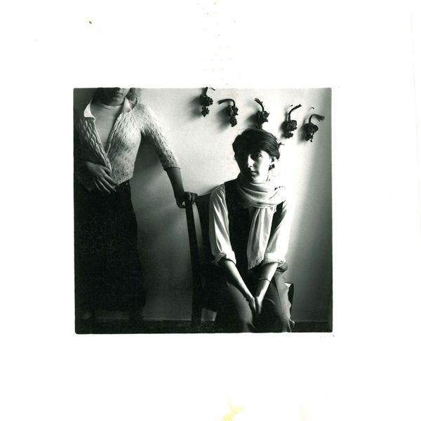 Francesca Woodman • 1977-78 Sabina and Francesca.