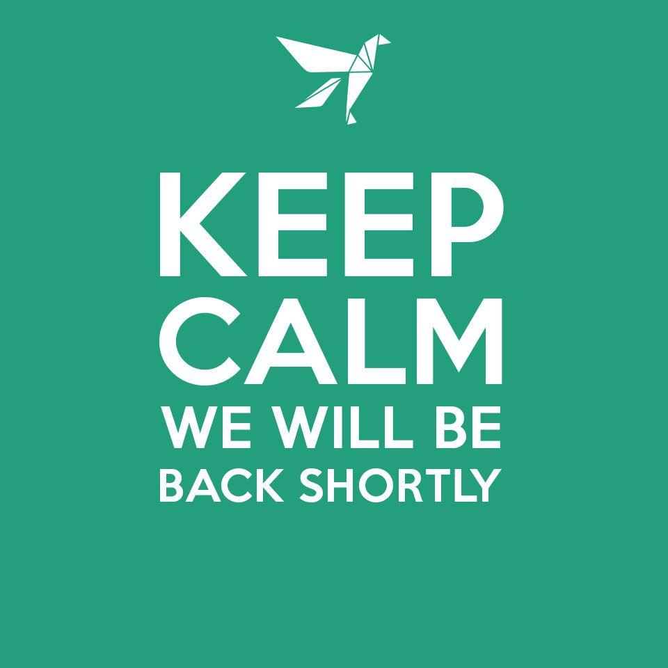 Allegorithmic - Under maintenance - Keep calm, we're back shortly