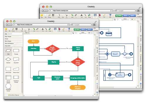 Online diagram software to draw flowcharts uml more creately online diagram software to draw flowcharts uml more creately ccuart Images