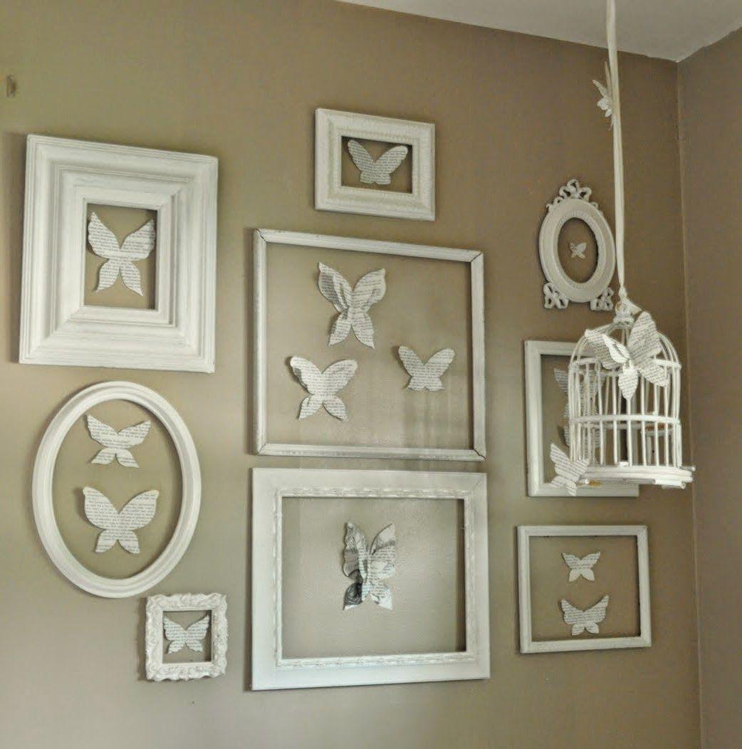 Boiserie c come disporre quadri e cornici sulla parete shabby chic pinterest cornici - Parete shabby chic ...
