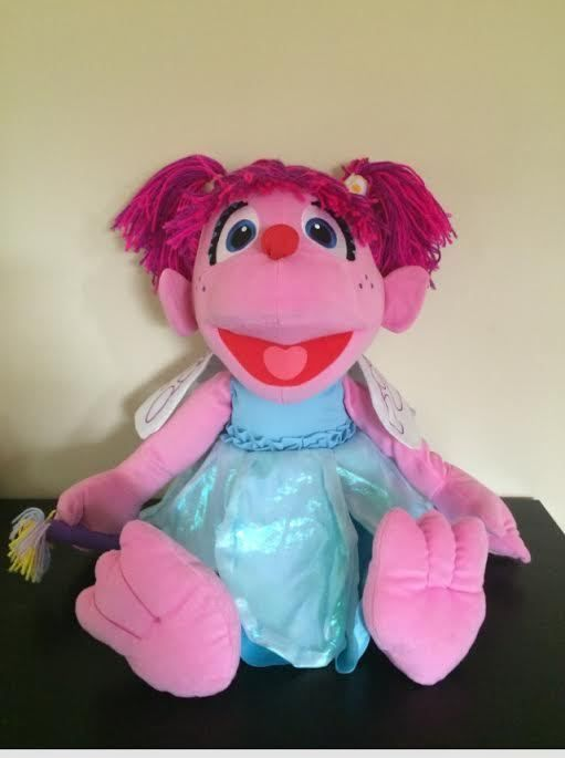Abby Cadabby Plush Doll Sesame Street Fairy Big Large 26