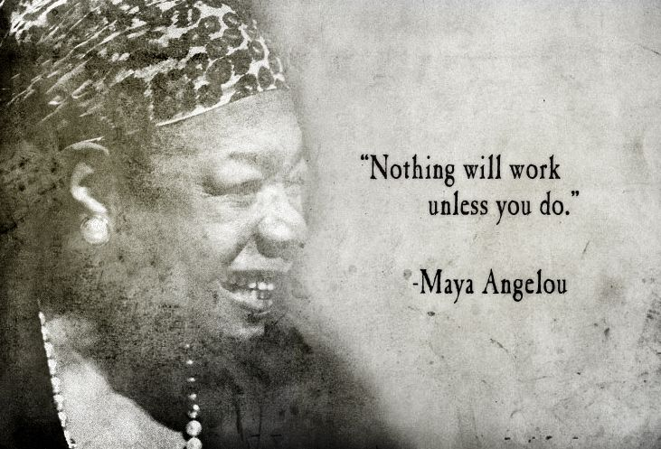 African American Inspirational Quotes About Life Adorable Maya Angelou Quote  25 Deep Maya Angelou Quotes  Funlava