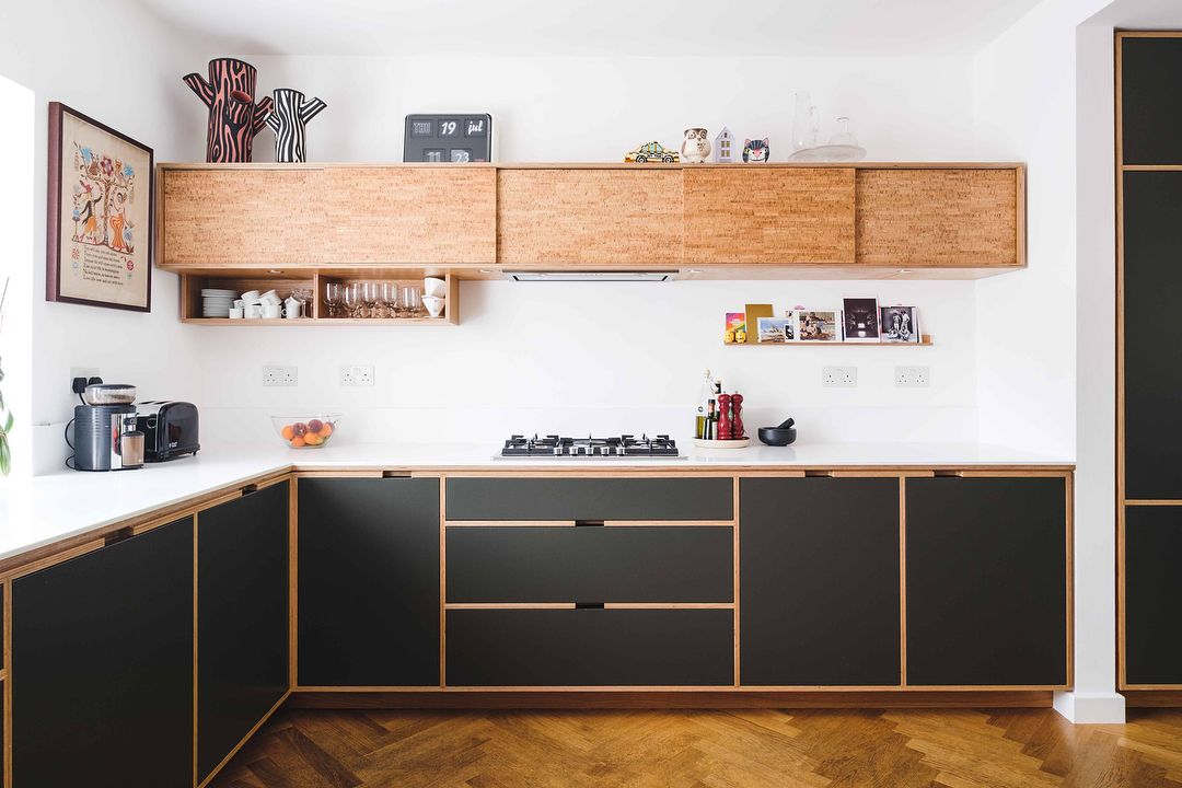 Here S One We Made Earlier A House In Islington Full Of Plywood Furniture For Sale Contact With Images Simple Kitchen Design Home Decor Kitchen Plywood Kitchen
