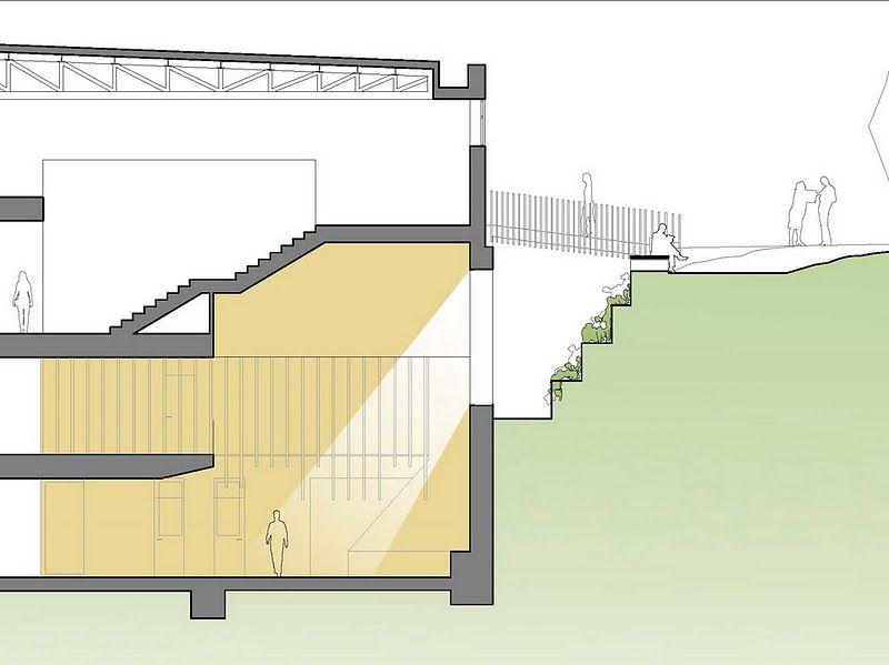 Facultad de derecho aestudio arquitectos coru a for Estudio de arquitectura en ingles