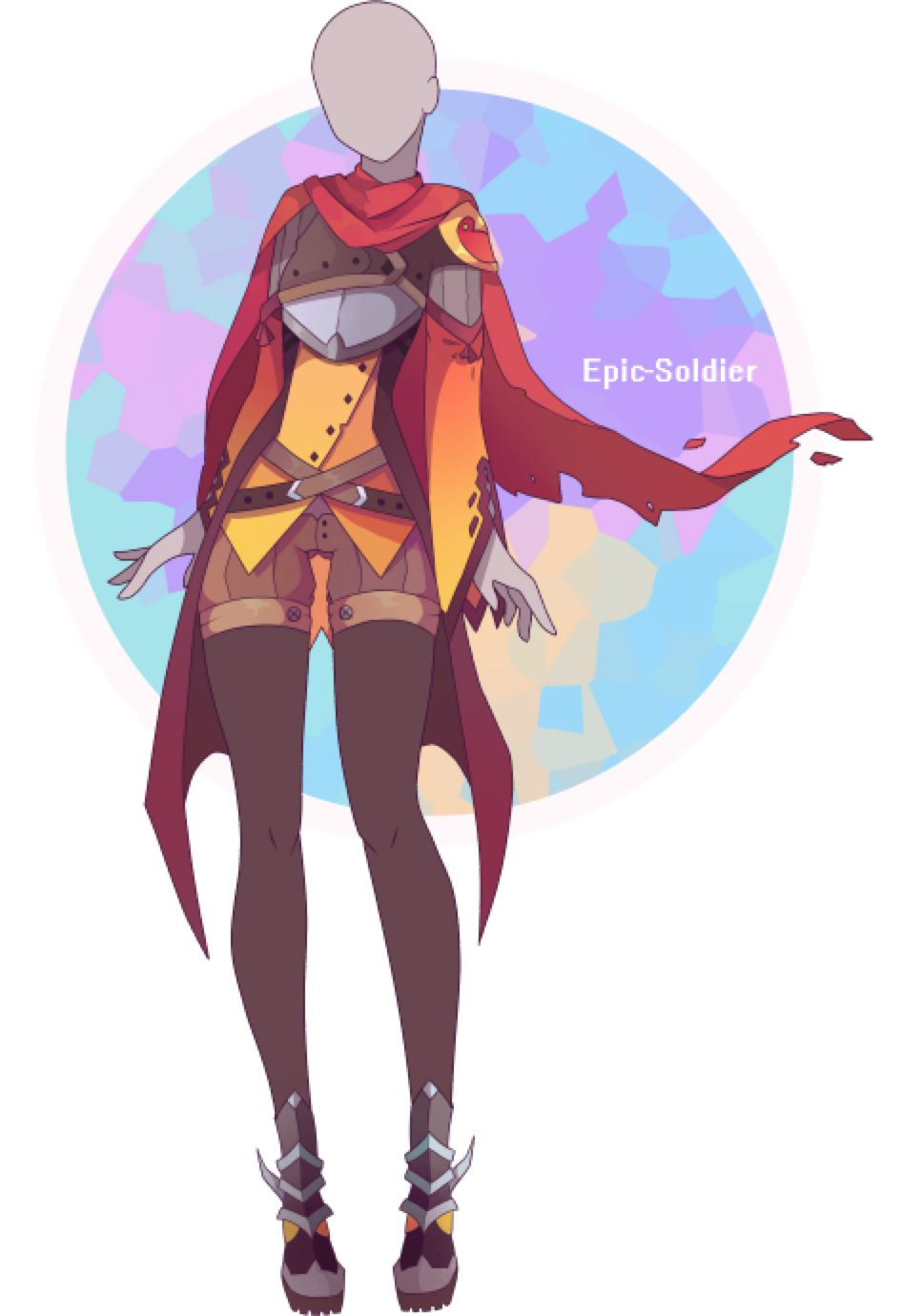 Custom Outfit Commission 30 By Epic Soldier On Deviantart Anime