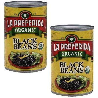 La Preferida Black Beans (12x15oz )