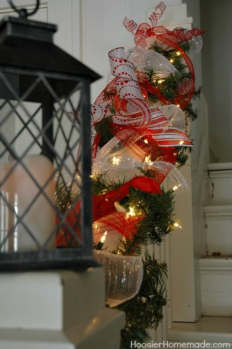 Magical Scandinavian Christmas Tree :: HoosierHomemade.com