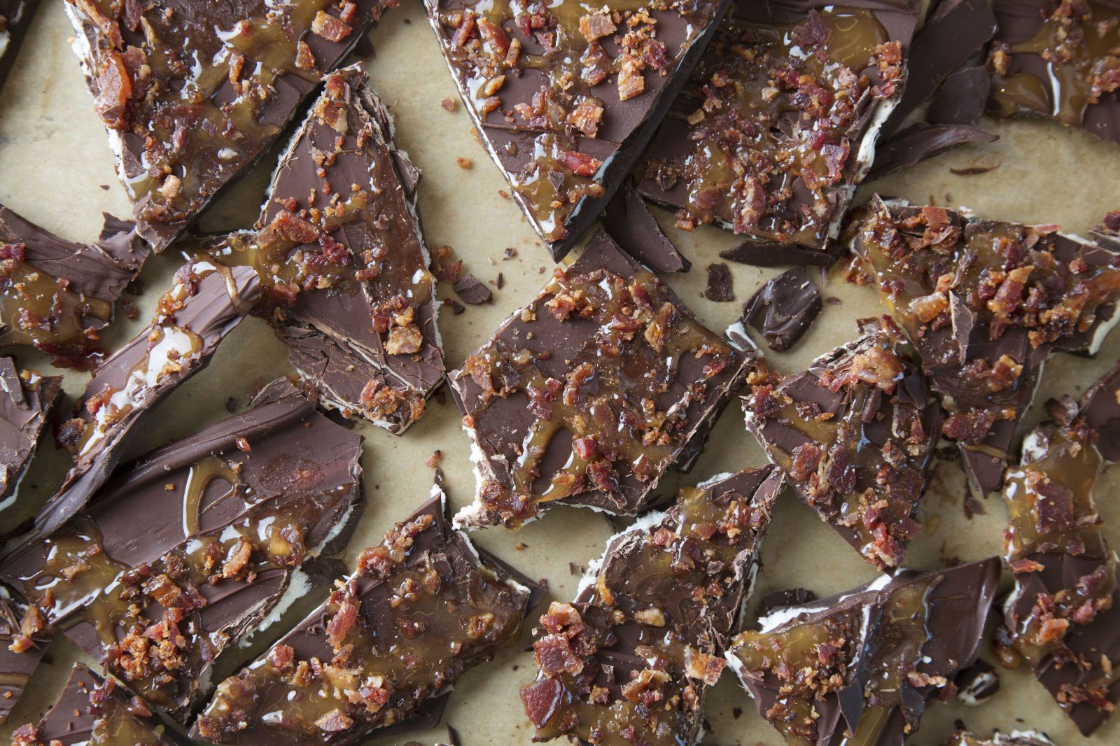 Bacon Caramel Fluff Bark That Dad Will Drool Over - GoodHousekeeping.com