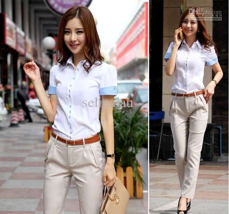 HOT fashion women shirt 2013 short sleeve shirt summer women top ...