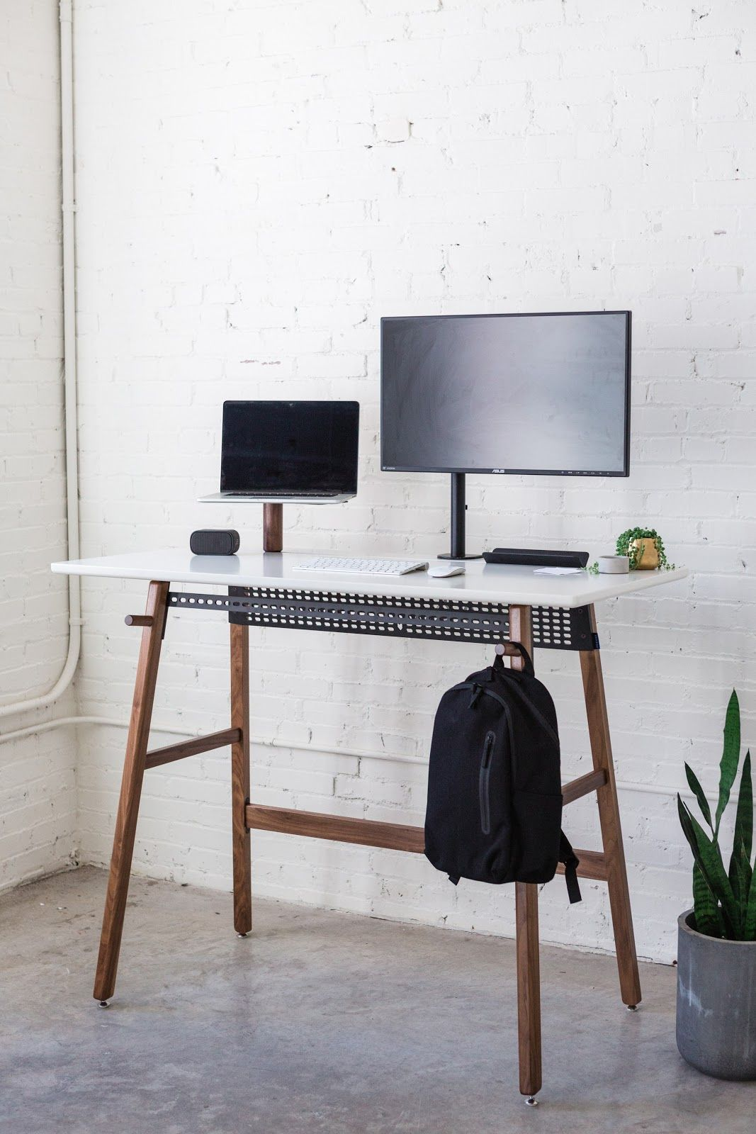 Standing Desk 02 Home Office Decor Desk Design Home Office Space