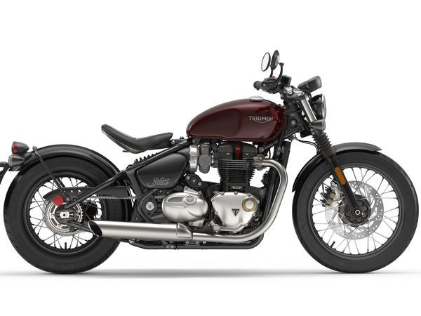 Triumph strips down the Bonneville in this new bobber version