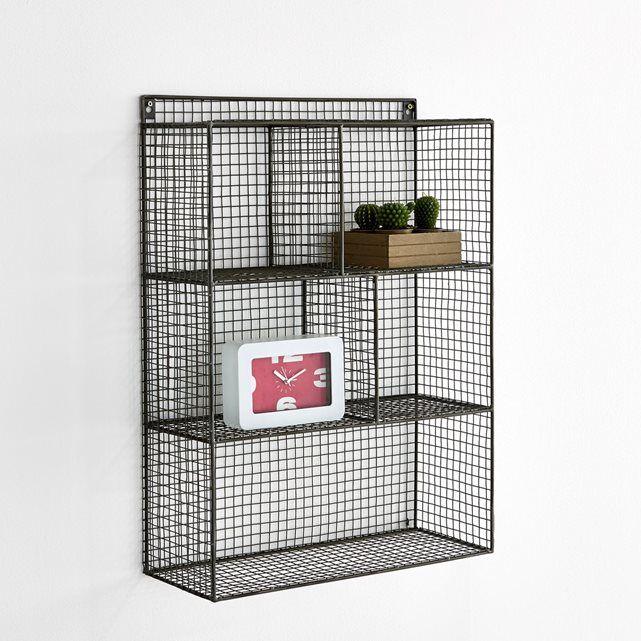 etagere metal a suspendre. Black Bedroom Furniture Sets. Home Design Ideas